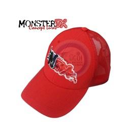 BONÉ MONSTER 3X FIT (Vermelho)