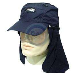 Boné MTK com proteção (Azul Marinho)