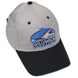 Boné Williamson Cinza/Preto