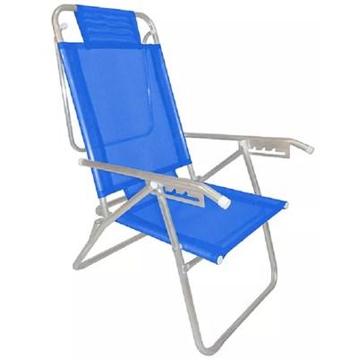 Cadeira de Praia Zaka Infinita Up Marinho 427 (Adulto)