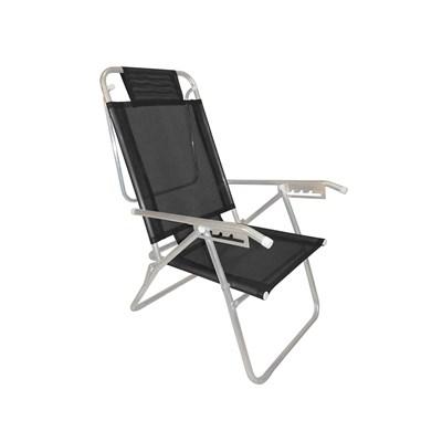 Cadeira de Praia Zaka Infinita Up Preto 429 (Adulto)