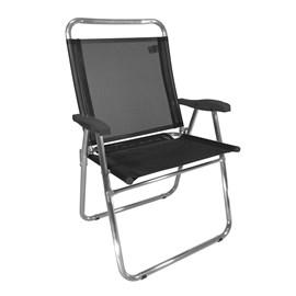 Cadeira de Praia Zaka King Preto (Adulto)