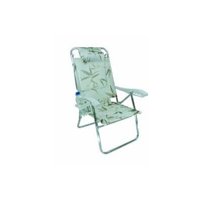 Cadeira de Praia Zaka Up-line Bambu 37 (Adulto)