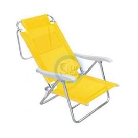 Cadeira MOR Sol de Verão 8P (Alumínio) - Amarela