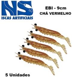 CAMARAO NS EBI 9 CM CHA VERMELHO C/5