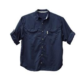 Camisa Ballyhoo 159 Crisis Azul Marinho