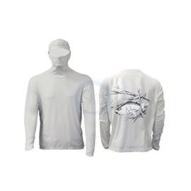 Camisa Ballyhoo Ninja 414 Areia Robalo M