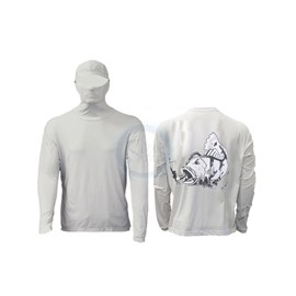 Camisa Ballyhoo Ninja 414- Areia Tucunaré (EXG)