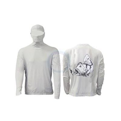 Camisa Ballyhoo Ninja 414 Areia Tucunaré GG