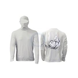 Camisa Ballyhoo Ninja 414- Areia Tucunaré M
