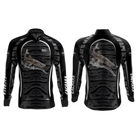 Camisa Rock Fishing Dry 50UV Cachara (Cinza)