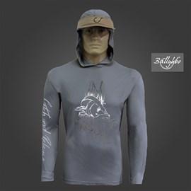 Camiseta Ballyhoo 418 Dark Grey Robalo Galhos EXXG