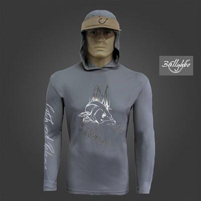 Camiseta Ballyhoo 418 Dark Grey Robalo M