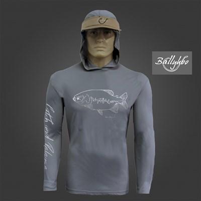 Camiseta Ballyhoo 418 Dark Grey Tamba EXXG