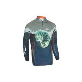 Camiseta Faca Na Rede Evo Tucuna Azul ML 184