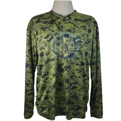 Camiseta MTK Atack Camuflado Verde (GG)