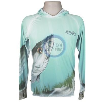 Camiseta MTK Eco Bio c/capuz Azul (G)