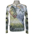 Camiseta MTK Eco Bio c/ziper Cinza (G)