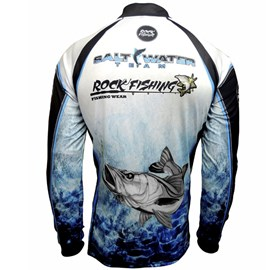 Camiseta Rock Fishing DRY - Salt Water Team - PP