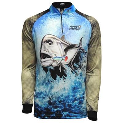 Camiseta Rock Fishing DRY (Xaréu)