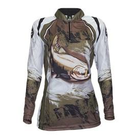 Camiseta Rock Fishing Feminino Dry River Tamba