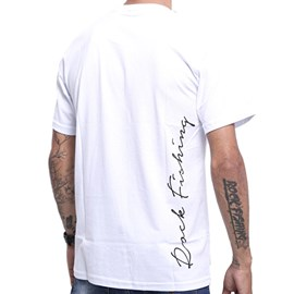Camiseta Rock Fishing Peacock Bass - Branco