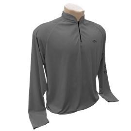 Camiseta Rock Permit DRY Fit (Cinza Escuro)