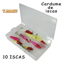 CARDUME DE ISCAS T MARU - 10 ISCAS SORTIDAS