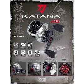 Carretilha Marine Sports Katana GTS - 11 Rol - Veloc 8.1:1 - Maniv