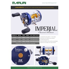 CARRETILHA MARURI IMPERIAL IL-60L