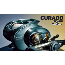 Carretilha Shimano Curado DC 150 HG - 7Rol - Veloc 7.4:1 - Maniv Direita + Brinde