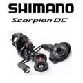 Carretilha Shimano Scorpion DC100XG - 8Rol - Veloc 7.2:1 - Maniv Direita