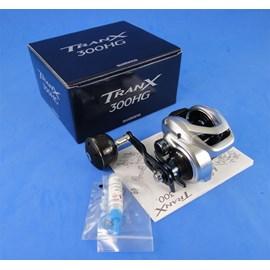 Carretilha Shimano Tranx 300HG - 6Rol - Veloc 7.6:1 - Drag 8kg - Maniv Direita