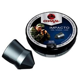 Chumbinho Chakal Impacto - 5,5mm C/125