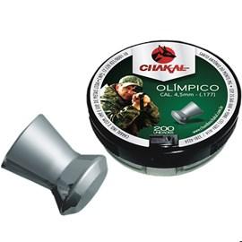 Chumbinho Chakal Olímpico - 4,5mm C/200