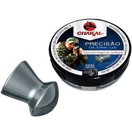 Chumbinho Chakal Precisão - 5,5mm C/125