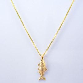 Colar Kamaro Dourado Cartier 60cm Ouro/AMA CCM07M