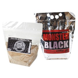 Combo Massa Black Fish: Monster Black 2,5kg + Super Atrativo 200g