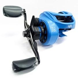 Conj. Vara Tacom Magnifica 8'0''(2,40m) 50lb + Carretilha Albatroz V73C – Blue (Direita) + Brinde