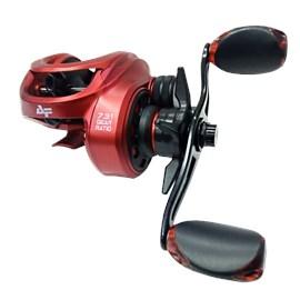 Conj. Vara Tacom Magnifica 8'0''(2,40m) 50lb + Carretilha Albatroz V73C – Red (Esquerda) + Brinde
