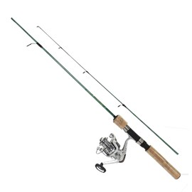 Conjunto Pesca Brasil: Vara Gladiador PBS 131 - 14 libras + Molinete Orbital 1000