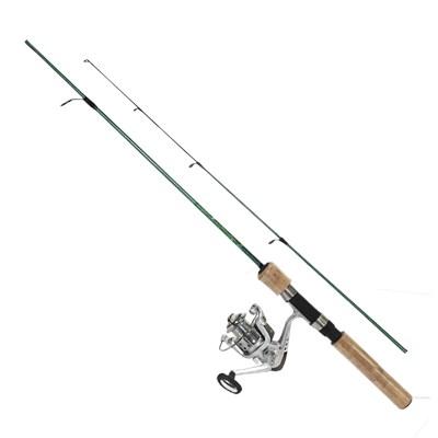 Conjunto Pesca Brasil: Vara Gladiador PBS 131 - 14 libras + Molinete Orbital 2000