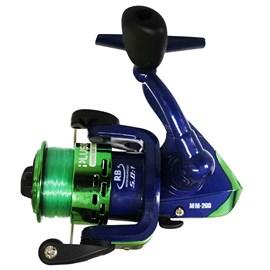 Conjunto Vara Plusfish Minimal 1,37m + Molinete Minimal 200 (Verde)