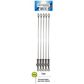 Encastoado Barão Aço Inoxidavel Rigido - 16X15 - 486 - C/5 Un
