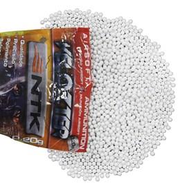 Esfera Plástica Nautika 6mm Branca - 0,25g (4000 unidades)