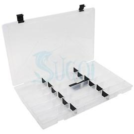 Estojo Rochel Plastic - Transparente