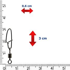 Girador e Snap Reforçado Celta CT1010 (N°5-54lb)