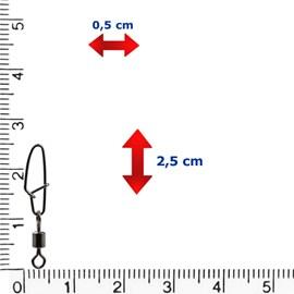 Girador e Snap Reforçado Celta CT1010 (N°7-33lb)