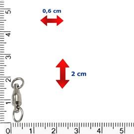 Girador Rolamentado Celta CT1004 (N°3-89lb)