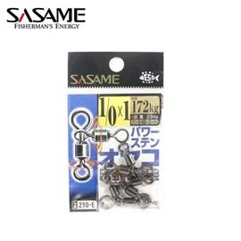 Girador Sasame Smooth Spin 210-E - Nº 1/0x1 - 172kg - C/ 3un